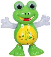 Танцуваща жаба - Детска играчка със светлинни и звукови ефекти - играчка
