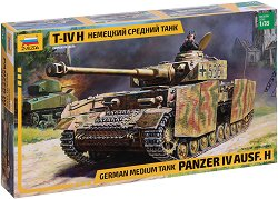 Германски танк PANZER IV AUSF.H - Сглобяем модел -