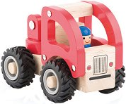 Пожарникарски камион - Дървена играчка -