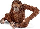 """Орангутан - женски - Фигура от серията """"Светът на дивите животни"""" -"""