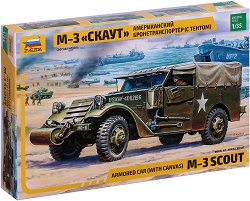 Американски брониран автомобил - M-3 Scout -