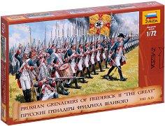 Пруски гренадири - Комплект от 41 фигури -