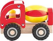 Бетоновоз - Дървена играчка -