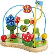 Лабиринт - Градина - Дървена детска играчка - играчка
