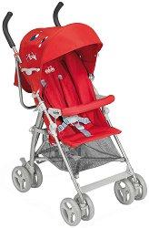 Лятна бебешка количка - Agile - С 4 колела -