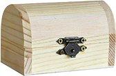 Дървена ракла - Предмет за декориране с размери 8.7 / 5.4 / 6.3 cm