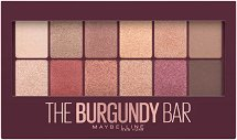 Maybelline Burgundy Bar Palette - Палитра сенки за очи - гел
