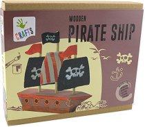"""Направи сам - Пиратски кораб - Творчески комплект от серията """"Crafts"""" -"""