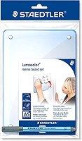 Самозалепваща дъска за писане - Lumocolor 305 - Комплект с маркер