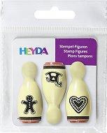 Гумени печати - Коледни сладки - Комплект от 3 броя - продукт