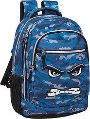 Ученическа раница - Faces Angry - раница