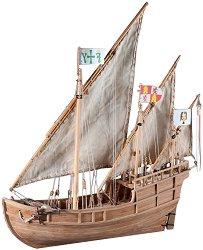 Каравела - Nina - Сглобяем модел на кораб от дърво - макет