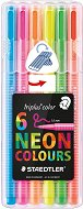 Флумастери - Neon Colours - Комплект от 6 цвята