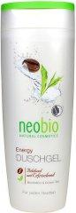 Neobio Energy Shower Gel - Душ гел за тяло с кофеин и зелен чай -