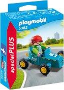 """Момче с картинг количка - Мини фигура от серията """"Special: Plus"""" - фигура"""