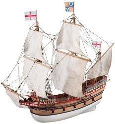Галеон - Golden Hind - Сглобяем модел на кораб от дърво -