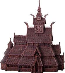 Дървена църква - Gol - Сглобяем модел -
