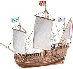 Каравела - Pinta - Сглобяем модел на кораб от дърво -