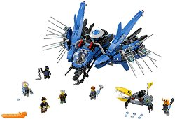 """Светкавичен самолет - Детски конструктор от серията """"LEGO Ninjago: The movie"""" -"""