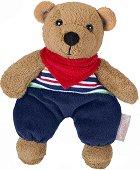 Меченце - Ben - Мека бебешка играчка с дрънкалка - играчка