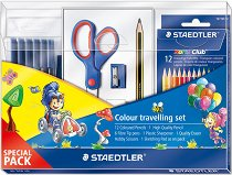 Комплект за рисуване - Colour travelling set - Комплект от 23 части