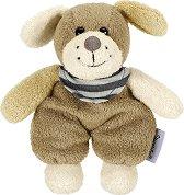 Кученце - Hanno - Мека бебешка играчка с дрънкалка - играчка