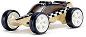 Полицейска кола - Детска дървена играчка -