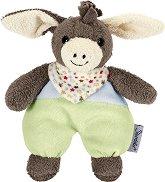 Магаренце - Emmi - Мека бебешка играчка с дрънкалка -