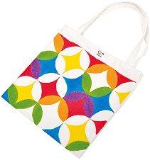 Декорирай сама - Шарена торба - Творчески комплект с бои -