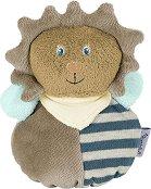 Лъвчето Лео - Мека бебешка играчка с дрънкалка -