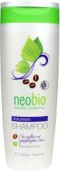 Neobio Volume Shampoo - Шампоан за обем с кофеин и бреза -