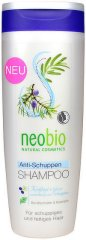 Neobio Anti-Dandruff Shmpoo - Шампоан против пърхот с хвойна и розмарин -