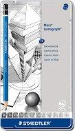 Графични моливи - Mars Lumograph - Комплект от 12 броя