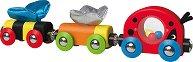 Калинка талисман и приятели - Детска дървена играчка -