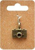 Металнa висулкa - Фотоапарат - Височина 2.1 cm