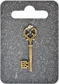 Металнa висулкa - Ключ - Височина 3.9 cm