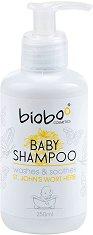 Bioboo Baby Shampoo Washes & Soothes - Бебешки шампоан за коса и тяло с екстракт от жълт кантарион -