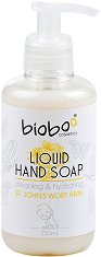 Bioboo Liquid Hand Soap Cleaning & Hydrating - Бебешки течен сапун за ръце с екстракт от жълт кантарион -