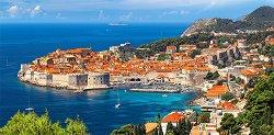 Дубровник, Хърватия - панорама - пъзел