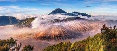 Вулканът Бромо, Индонезия - панорама -