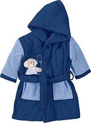 Бебешки халат за баня - Henri - 100% памук -