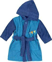 """Бебешки халат за баня - Henri - 100% памук от серията """"Henri"""" -"""