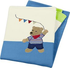 Бебешко одеяло - Мечето Ben - Размери 75 x 100 cm -