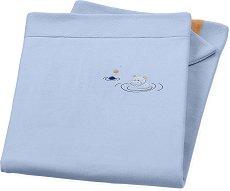 Бебешко одеяло - Хипопотамчето Norbert - Размери 75 x 100 cm -