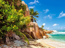 Райският плаж, Сейшели - пъзел