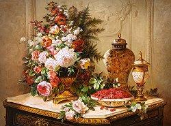Лалета и други цветя - пъзел
