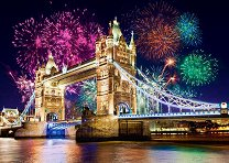 Тауър Бридж в Лондон, Англия -