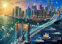 Бруклинският мост в Ню Йорк - Александър Чен (Alexander Chen) -