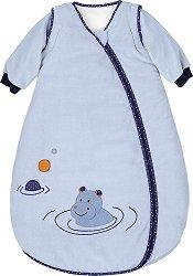 Зимно бебешко спално чувалче - Хипопотамчето Norbert - С дължина 70, 90 или 110 cm -