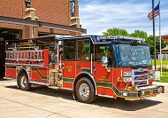Противопожарен автомобил -